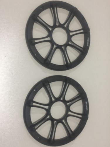 NEW  1 PAIR OF KICKER   6.5 OR 6 1/2  SPEAKER GRILLES COVERS  FREE SHIPPING