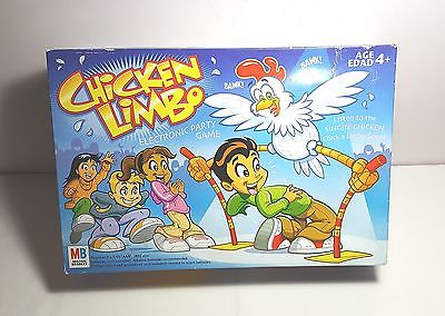 Chicken Limbo Game from Milton Bradley 2005 Complete & Works