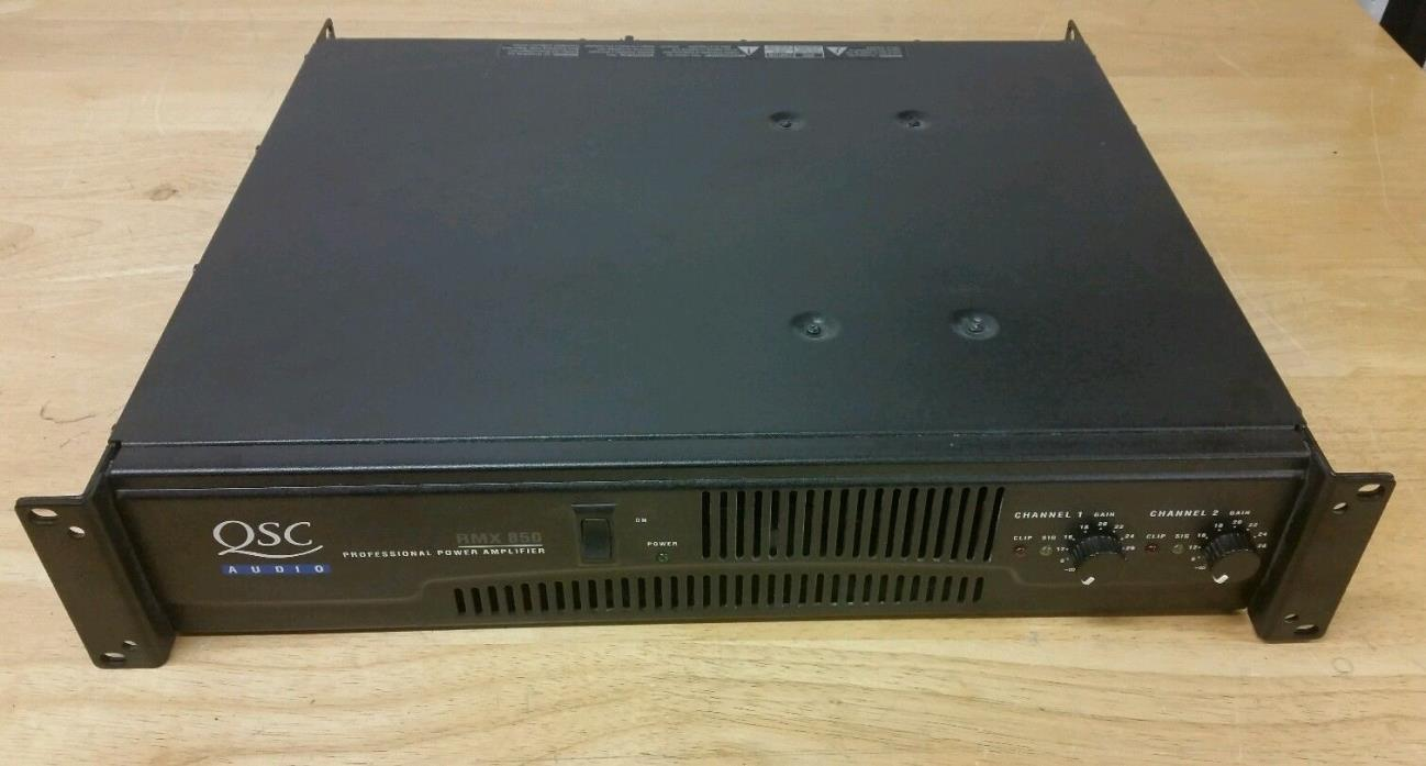 used qsc power amplifiers for sale classifieds. Black Bedroom Furniture Sets. Home Design Ideas