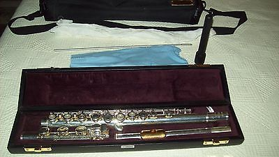 Yamaha Flute YFL-371H Allegro Series Silver and Gold