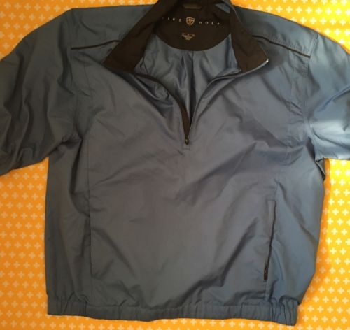 Nike Golf Blue Pullover Size Large