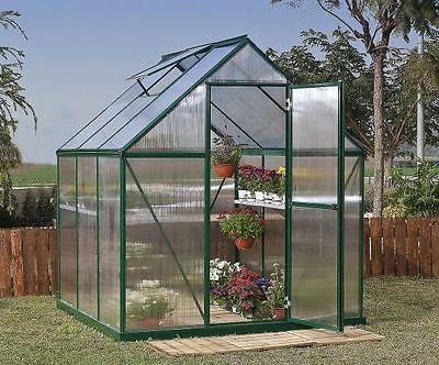Hot House Mini Greenhouse Hobby Conservatory Plant Covers Winter Solar Energy