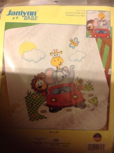 cross stitch baby quilt kit