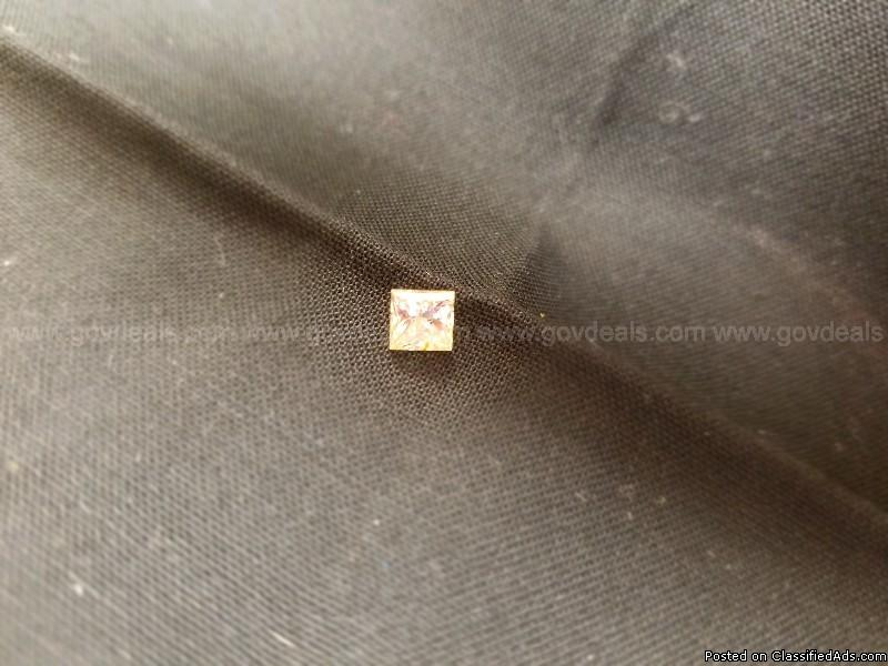 1 - Loose Princess Cut Diamond 1.02 Carats