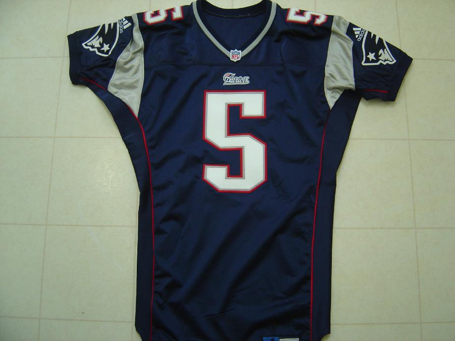 2000 New England Patriots Game Issued Jersey