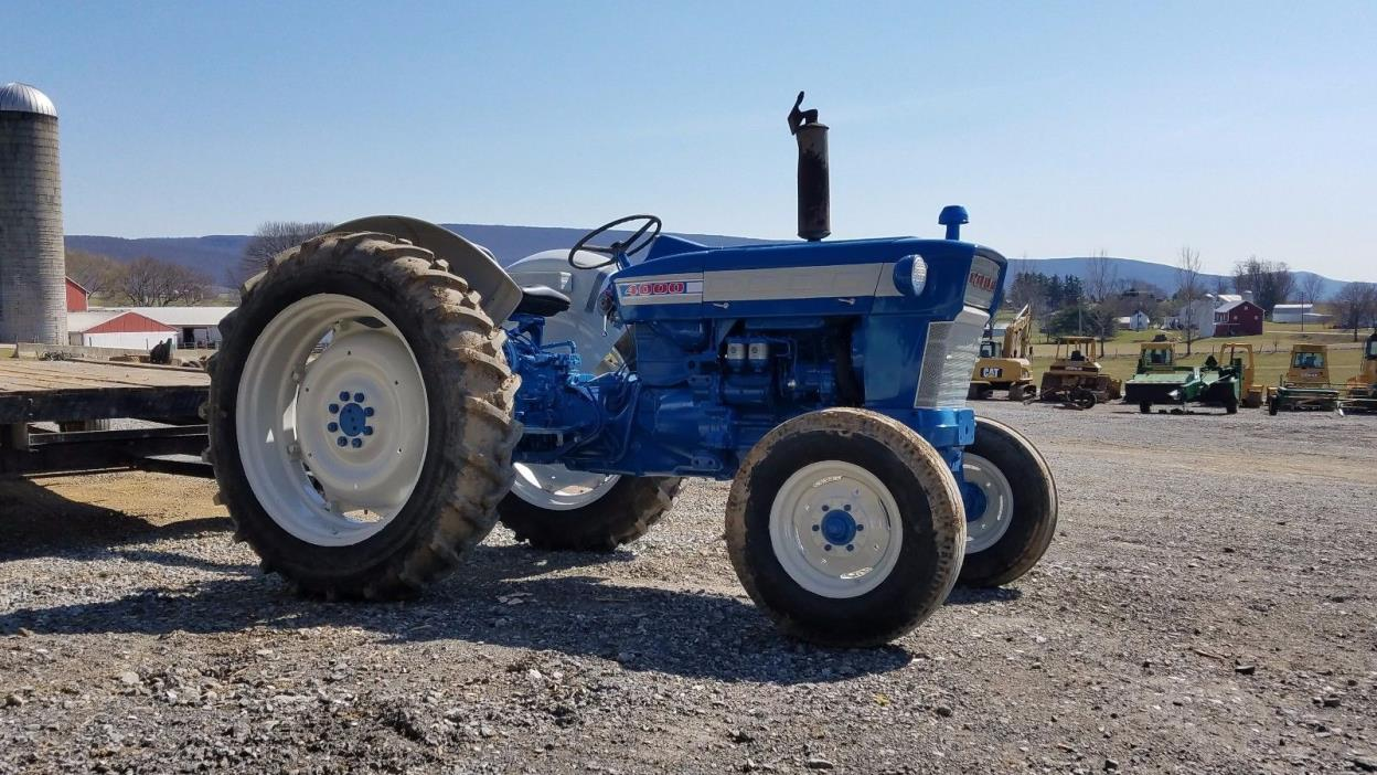 Ford 4000 Diesel Tractor : Ford diesel for sale classifieds