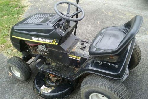 used yard machine lawn mower for sale