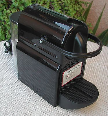 Nespresso Inissia D40 Espresso Maker Black Nice