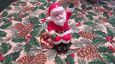 1985 Ebeling & Reuss Company Musical Santa Decoration