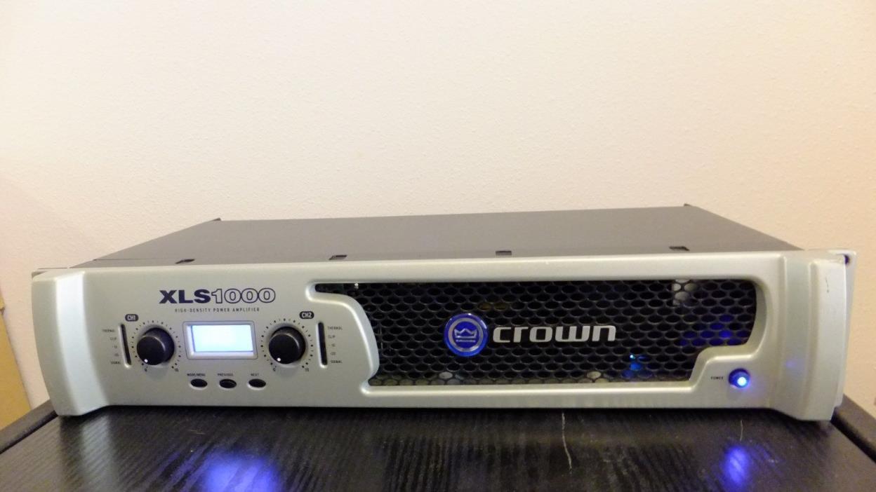 Crown Power Amplifier XLS1000