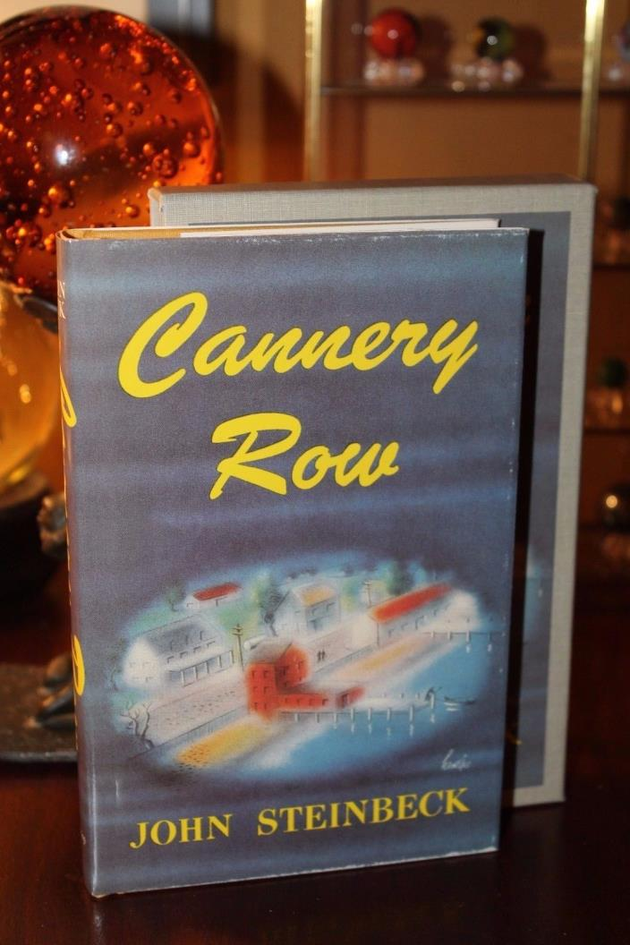 First Edition Library Cannery Row John Steinbeck Facsimile Slipcased