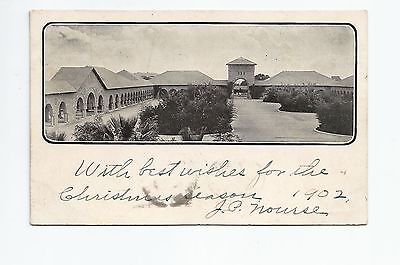 Inner Quad Courtyard Stanford, Private Mailing Card (Postal Card) Palo Alto 1902