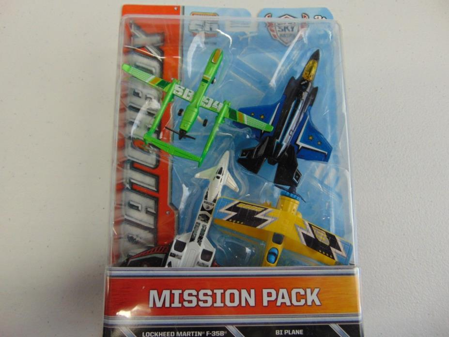 MATCHBOX SKYBUSTERS MISSION PACK NEW gm609