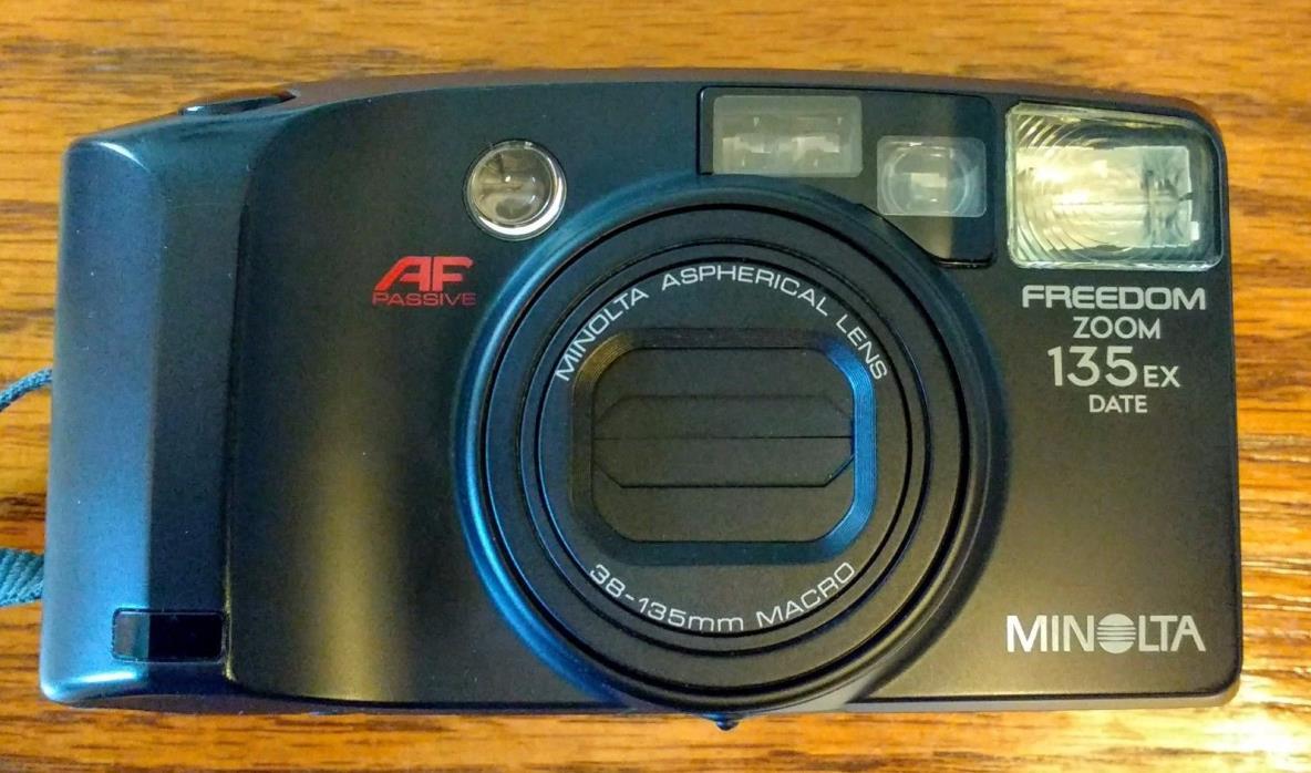 Minolta Freedom Zoom 135EX 35mm Camera Flash