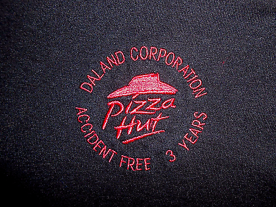 Pizza Hut Official  Polo Work Shirt, Dalland Corp. Size XL, Little Caesers