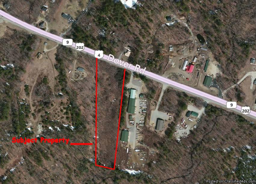 5 Acre Commercial Parcel For Sale on Dover Road-Epsom,NH