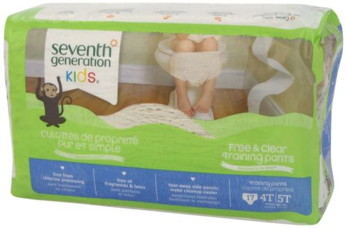 Seventh Generation Pull Ups * Size 4T-5T