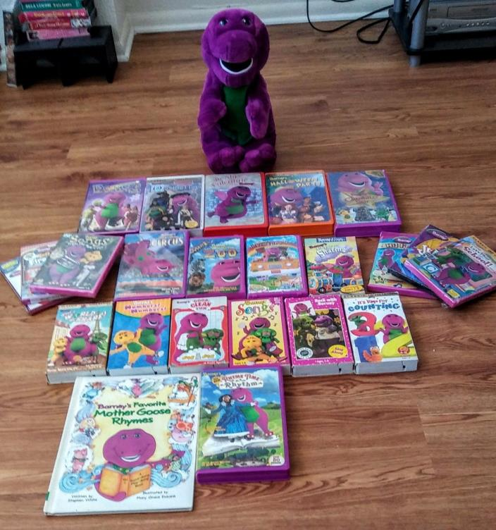 Lot Of Barney Book For Sale Classifieds