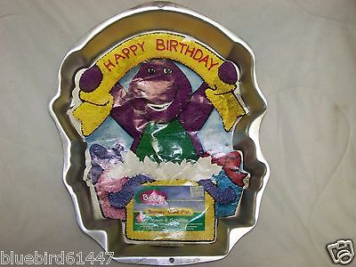 Wilton Cake Pan Barney 2105-3450 1998