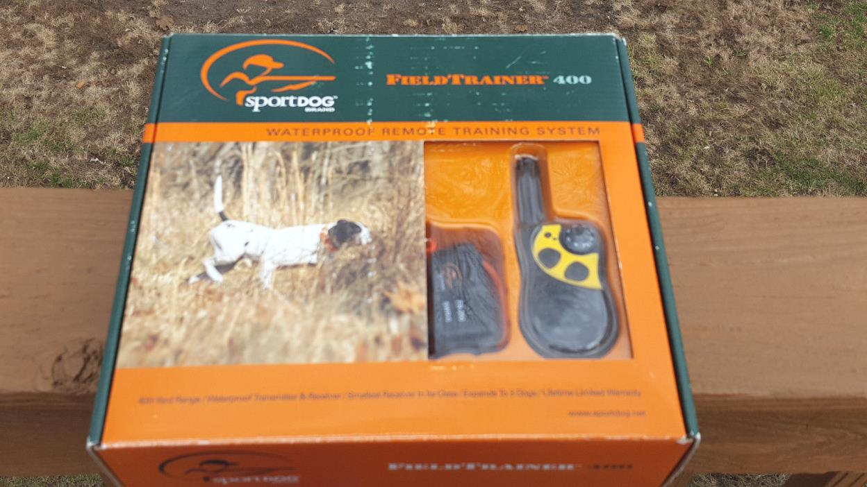 NEW  SportDog Brand SD-400 Field Trainer 400 Waterproof Remote Training System