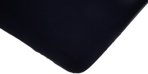 American Baby Company Supreme Jersey Knit Fitted Crib Sheet, Navy