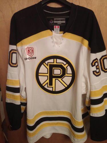 Tuuka Rask Providence Bruins Game Worn Jersey  AHL NHL