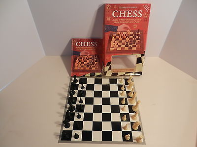 GARETH WILLIAMS CHESS 1999 COMPLETE with 64 PAGE BOOK