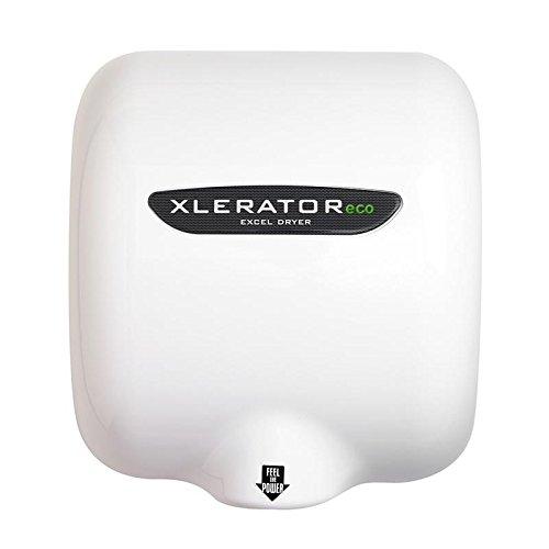 Excel Dryer XLERATOReco XL-BW-ECO Hand Dryer, No Heat, White Thermoset Resin (BM