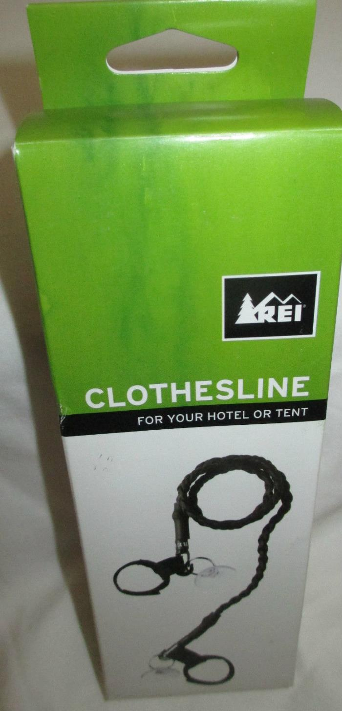 REI Clothesline Camping Tent Hotel Travel Stretches to 72