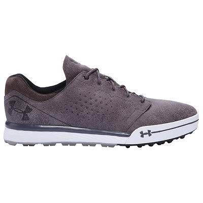 NEW!!  Under Armour Tempo Hybrid Mens Spikeless Golf Shoes 9.5 Gravel/Charcoal