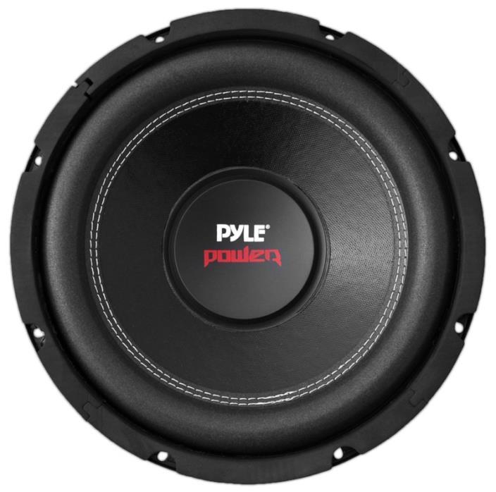 Pyle PLPW12D 12-Inch 1600 Watt Dual 4 Ohm Subwoofer, Car Audio Enclosure Speaker