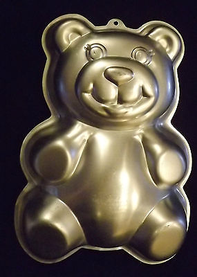 Bear Cake pan 1986 Wilton Bakeware Teddy Bear Cake Pan