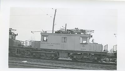 6E617 RP 1940s? CSS&SB CHICAGO SOUTH SHORE SOUTH BEND RAILROAD LOCOMOTIVE #1014