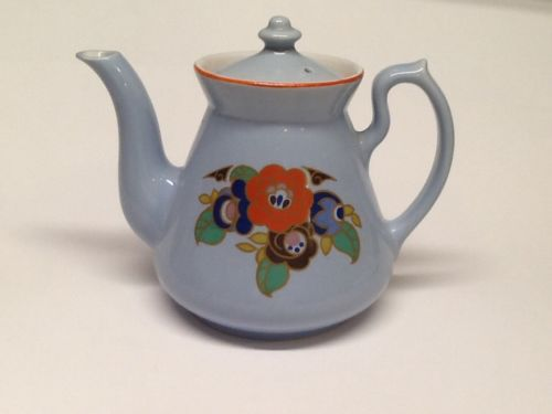 Hall China Philadelphia Teapot. Mayflower Decal