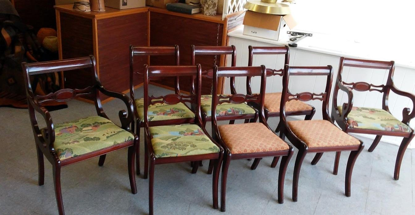 Duncan phyfe dining room set for sale classifieds for Duncan 5 dining room table