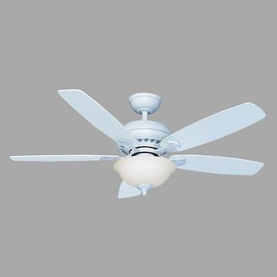 Hampton Bay Southwind 52 in. Matte White Ceiling Fan with Light