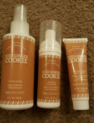 Beauticontrol Iced Ginger Cookie Set