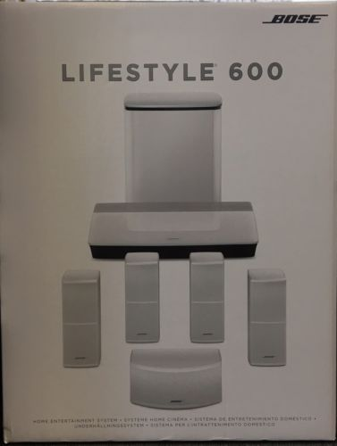 Bose Lifestyle 600 Home Theatre System White