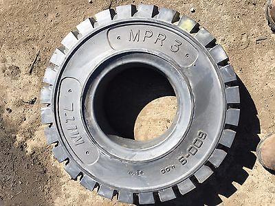 2 New 6.00-9  Forklift Lug tire MPR3 tire 6.00x9 600-9 Lug