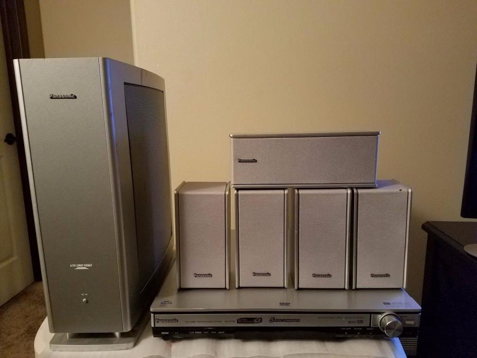 panasonic dvd home theater for sale classifieds. Black Bedroom Furniture Sets. Home Design Ideas
