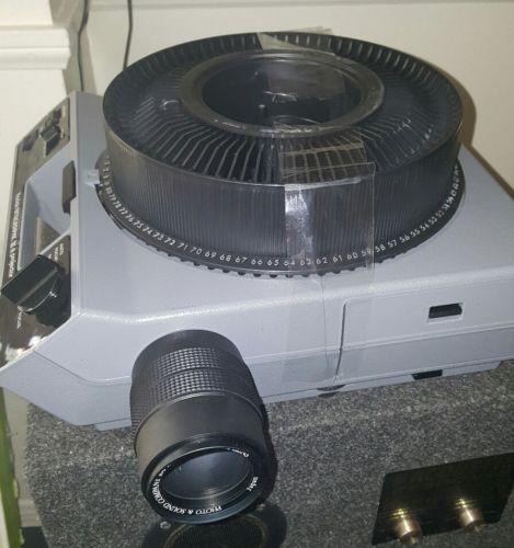 Kodak Ektagraphic III a Projector with IR Remote control