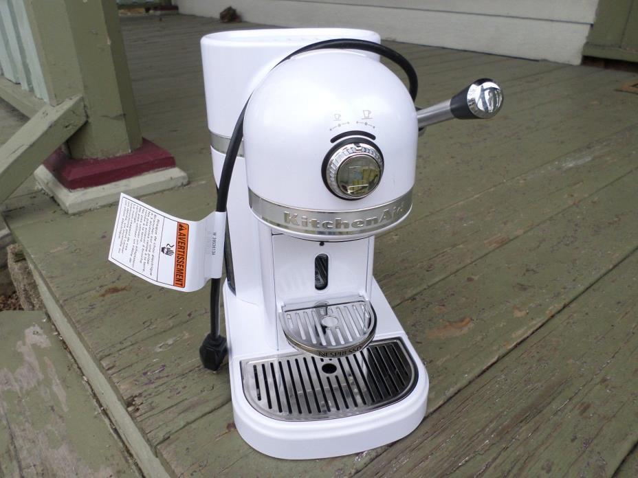 KitchenAid Espresso Maker Nespresso White/NEW