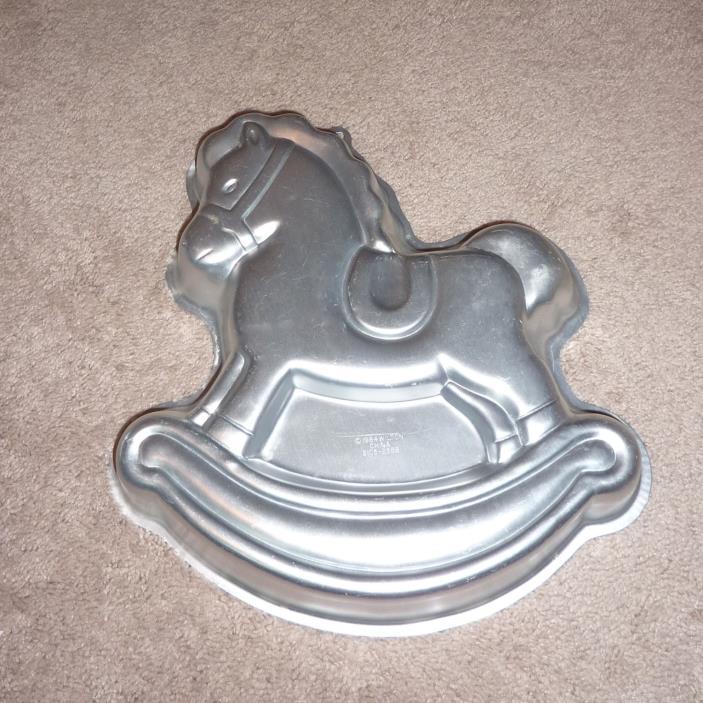 Wilton Vintage Rocking Horse cake pan
