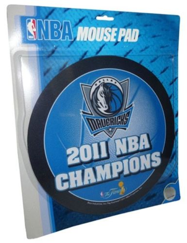 NBA Dallas Mavericks NBA Champions Mouse Pad