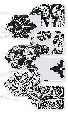 Sprinkles Gifts Country French Black & White Print Paper Label Sticker Retail Pr