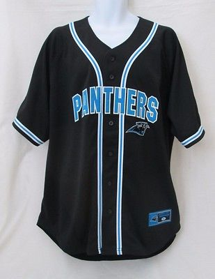 CAROLINA PANTHERS Authentic NFL Men's Size XL Black Starter Jersey-New