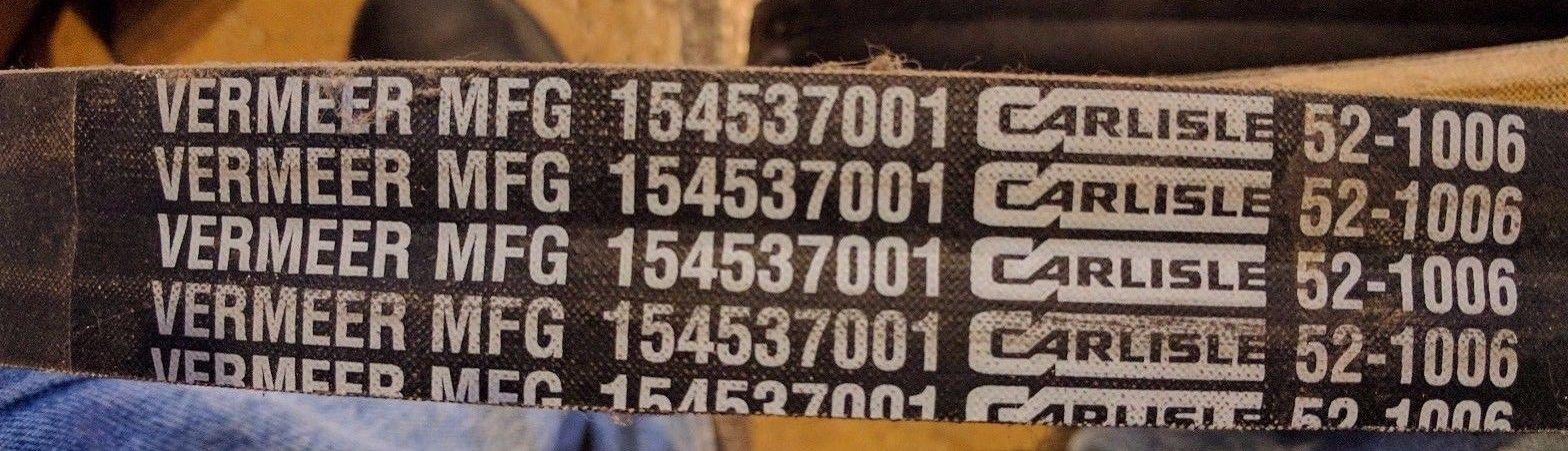 OEM Vermeer Chipper belt 154537-001