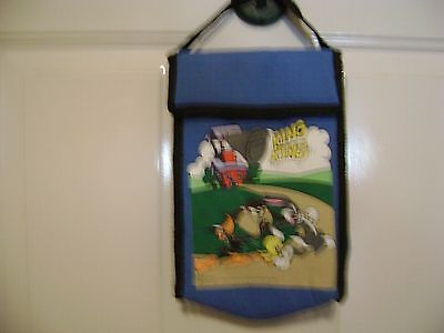 VINTAGE LOONEY TUNES LUNCH BAG, 1995 INSULATED  NEVER USED LOONY