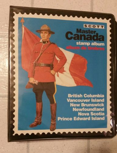 Scott Master Canada Stamp Album 700 + Stamps