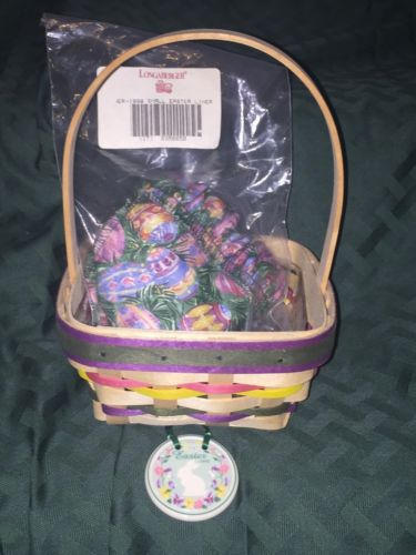 Longaberger 1998 Small Natural Easter Basket